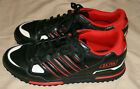 Adidas Originals ZX 750 Men Running Trainers Black Red Sneakers size 11