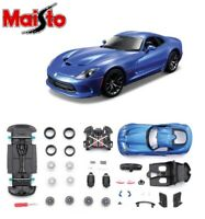 MAISTO Assembly Line 1:24 Scale Die-Cast Metal Car Model Kit Kids Toy Gift