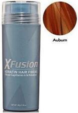 X-Fusion Keratin Hair Fibers 28 Gram Auburn