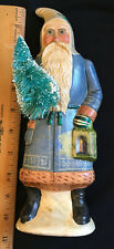 Vaillancourt Folk Art ceramic S Vintage anta limited edition in Blue Robe