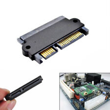 7+15 Pin Male Plug To SATA 22Pin Female Convertor Adapter Power Data Hard Disk