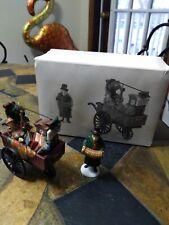 """Dept 56 """"Chelsea Market Curiosities Monger & Cart"""" #58270 Heritage Village"""
