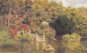 A.R.QUINTON : Bonchurch Pond,I W-SALMON  *1639
