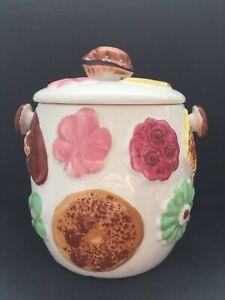 Vintage Napco Cookies All Over Cookie Jar - Made in Japan MCM