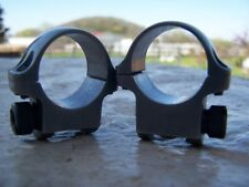 "Ruger 1"" Lows  Stainless  Rings for a M77 ~Used~"