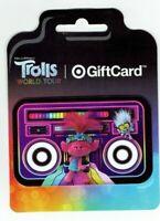 TARGET Gift Card - Trolls Dolls / World Tour / Boom Box - No Value - I Combine