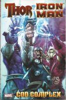 Thor/Iron Man: God Complex TPB Marvel 2011 MCU *