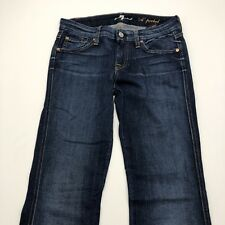 7 Seven For All Mankind 'A' Pocket Women's Blue Jeans Size 26 Actual 29X31.5