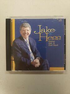 Jake Hess - Gotta Get A God Said CD *RARE* 2003 Crossroads Roger Talley