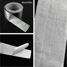 Universal Aluminum Heat Protection Tape Car Turbo Exhaust Pipe Wrap 25m 450℃ New