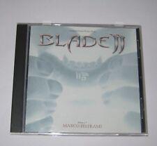 BLADE ll. MARCO BELTRAMI  SOUNDTRACK RARE LONG DELETED ALTERNATIVE SLEEVE CD