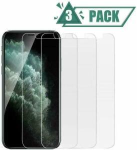 3x Panzerfolie für Apple iPhone 12 11 Xs 8 7 6s SE 2020 Pro Max Schutzglas 9H HD