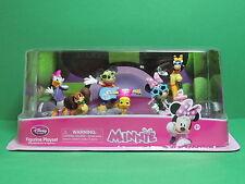 MINNIE & MICKEY rockstar Coffret 6 PVC figurine Set Playset pack Disney Store