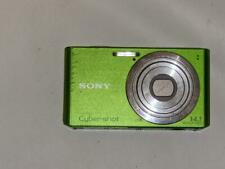 Sony Cyber-shot DSC-W610 14.1MP Digital Camera - Lime Green (No Charger)Untested