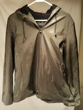 UTEX DESIGN WOMENS GREY RAIN COAT Charcoal BLACK Trench COAT SIZE Medium Jacket