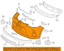 TOYOTA OEM 15-16 Prius C-Bumper Cover 5211952996
