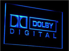 New Custom Dolby Digital LED Neon Light Signs Bar Man Cave 7 colors to choose