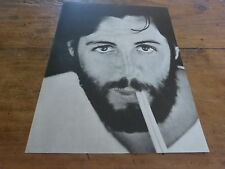 PAUL Mc CARTNEY  - Mini poster Noir & blanc !!!!!!!!!