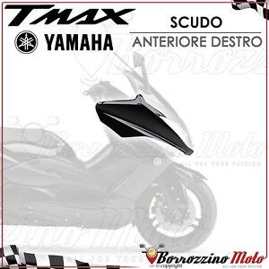 SCOCCA CARENA SCUDO ANTERIORE DESTRO NERO METALLIZZATO YAMAHA T-MAX 500 2011