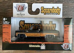 M2 Machines Squarebody Syndicated Release 2 ,woodson , 1979 Chevrolet Silverado