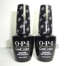 (2pc) OPI GelColor Base Coat GC 010 Soak Off LED/UV Gel .5oz +BONUS
