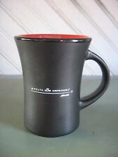 NOS AIRLINES -- DELTA & KLM & AIRFRANCE Coffee Cup Mug Alltalia Modern pottery
