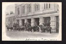 Bradford Fire Brigade Station - printed postcard