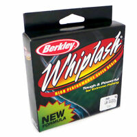 CLEARANCE Berkley WHIPLASH Braid 275yd GREEN 80lb 37.8Kg BRAND NEW
