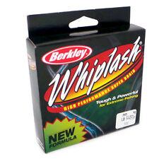 CLEARANCE Berkley WHIPLASH Braid 275yd GREEN 80lb 37.8Kg BRAND NEW