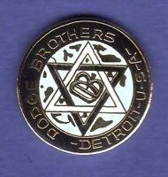 DODGE BROTHERS HAT PIN LAPEL PIN TIE TAC ENAMEL BADGE #0150