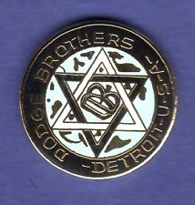 DODGE BROTHERS HAT PIN LAPEL PIN TIE TAC ENAMEL BADGE #0150