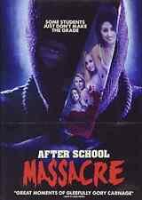 After School Massacre  DVD NEW