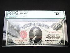 $1 1917 LEGAL TENDER PCGS CHOICE UNC BU NOTE***PCGS 63***
