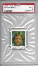 1983 Fleer Stamps - George BRETT - PSA 9+++ HOF Royals