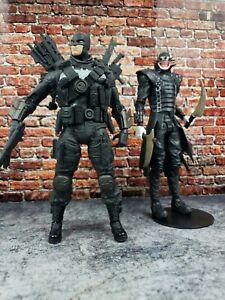 "DC Multiverse The Grim Knight & ""Who Laughs"" McFarlane Batman 7""Action Figures"