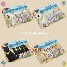 Pet Friendly Beach Refrigerator Magnets, Dogs, Cats, Pet Photo Magnet Gifts
