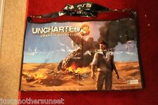 SDCC Promo Bag Tote Starhawk Uncharted 3 Drake's Decption Game Gamer PS3 new