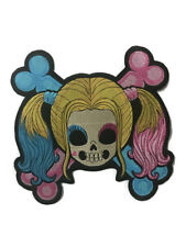 Large Back Patch l Baby Girl Skull