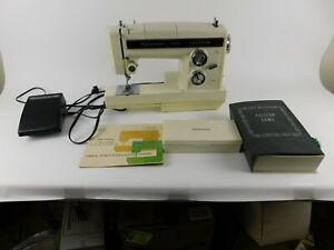 Kenmore Convertible Sewing Machine, Model 1785 w/ Accessories, Cams & Manual VGC