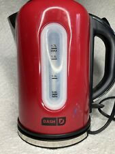 Red Dash Rapid Tea Kettle Electric Used