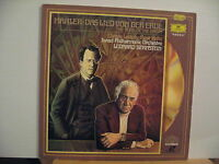 """MAHLER The song of the Earth BERNSTEIN-12""""video laser disc set - Free UK Post"""
