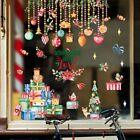 Christmas Xmas Santa Removable Stickers Art Decals Wall Home Shop Decoration
