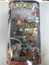 Pokemon Black & White TOMY Charizard Excadrill Pignite Stunfisk Figure 4-Pack
