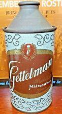 Gettleman Cone Top 164-24 Rathakeller Milwaukee Wisconsin Beer Can