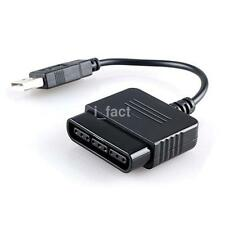 For PS2 to PS3&PC USB Controller Converter Adapter Cable PS2 Guns/Dance Pads US3
