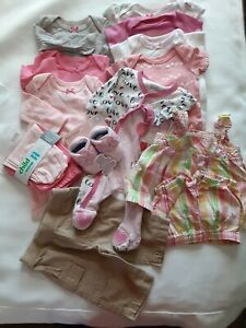 New Born Bay Girls Clothes Some Never Worn No Stains