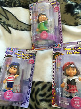 Dora The Explorer  three  Figure collection includes france scotland and ireland