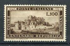 ITALIA 1949 REPUBBLICA ROMANA MNH** SASSONE 600