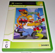 The Simpsons Hit and Run XBOX PAL (Classics) *Complete*