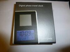 John Lewis Digital Photo Orologio da viaggio-Memorizza fino a 100 foto